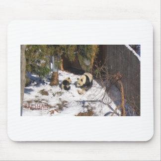 Tai Shan et Mei Xiang, ours panda géants Tapis De Souris