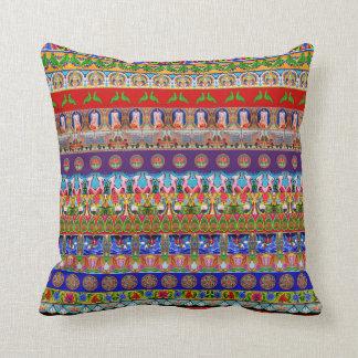 Taie d'oreiller inspirée par l'art de camion - 1 coussin