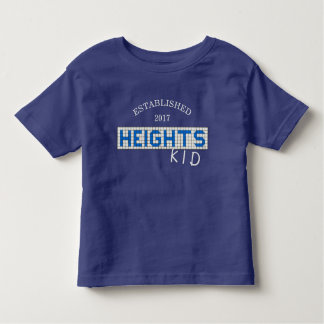 Tailles personnalisées de Houston bleues et enfant T-shirt Pour Les Tous Petits