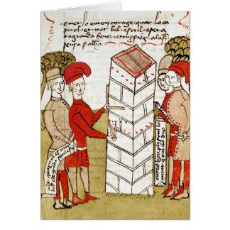 Tailleurs de pierres, de 'd'Arpentage de Traite Carte De Vœux