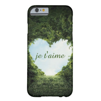 t'aime de je coque iPhone 6 barely there