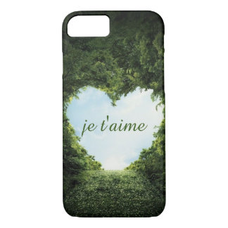 t'aime de je coque iPhone 7
