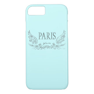 T'aime de PARIS Je, je t'aime cas de l'iPhone 7 Coque iPhone 7