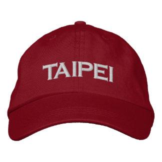 Taïpeh, Taïwan a brodé le casquette