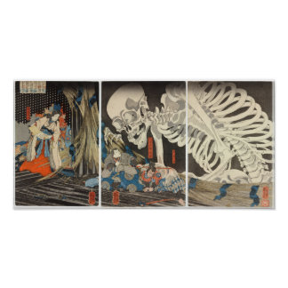 Takiyasha la sorcière et le spectre squelettique posters
