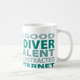 Talent du plongeur autonome 3% mug