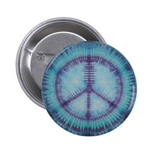 Talent pourpre de bouton de signes de paix badge avec épingle