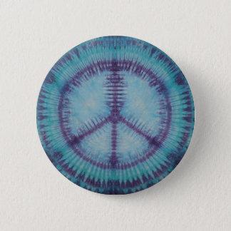 Talent pourpre de bouton de signes de paix badges
