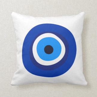 talisman arabe turc grec de symbole d'oeil mauvais oreillers