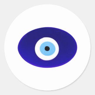 Talisman d oeil mauvais autocollant