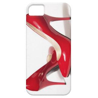 Talons stylets rouges Iphone 5 et caisse du portab Étui iPhone 5