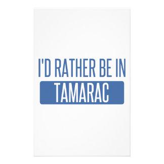 Tamarac Papier À Lettre