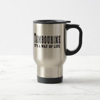Tambour de basque c'est mode de vie tasse à café