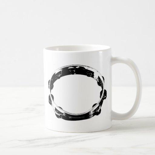 Tambour de basque tasse à café