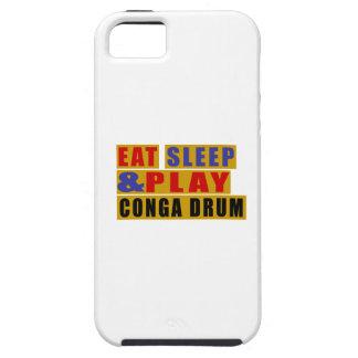 TAMBOUR mangez de sommeil et de jeu CONGA Coques Case-Mate iPhone 5