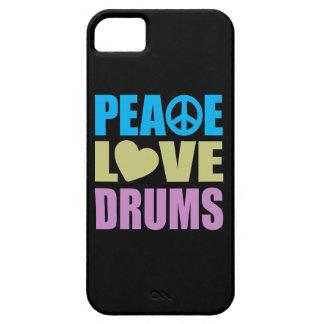Tambours d amour de paix coque iPhone 5 Case-Mate