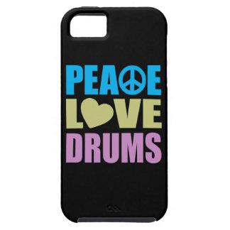 Tambours d amour de paix coque Case-Mate iPhone 5