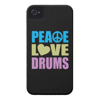 Tambours d amour de paix coques Case-Mate iPhone 4