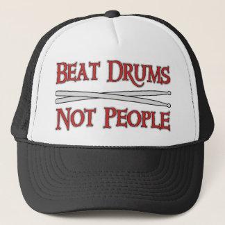 Tambours de battement casquette