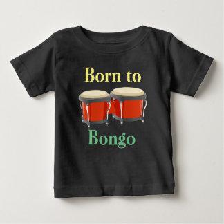 Tambours de bongo sur le T-shirt du Jersey