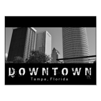 Tampa du centre posters