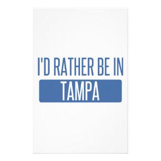 Tampa Papier À Lettre Customisable