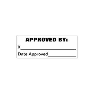 Tampon Auto-encreur Approuvé par le cachet de firme