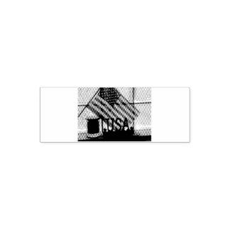 Tampon Auto-encreur Etats-Unis-Drapeau de timbre