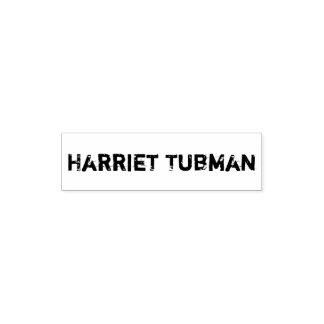 Tampon Auto-encreur Individu de Harriet Tubman encrant le tampon en