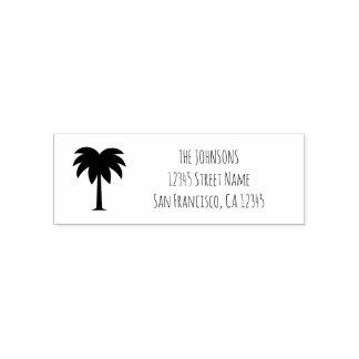 Tampon Auto-encreur Individu de logo de palmier encrant des timbres