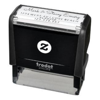 Tampon Auto-encreur Timbre fait sur commande d'adresse, adresse de