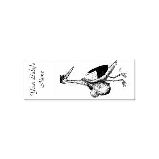 Tampon en caoutchouc de cigogne de la livraison tampon auto-encreur