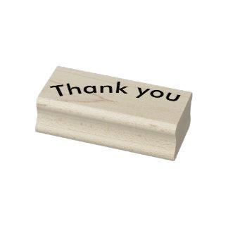 Tampon en caoutchouc de Merci