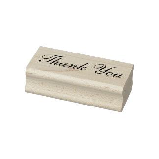 Tampon en caoutchouc de Merci, merci