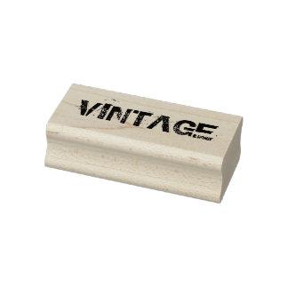 Tampon en caoutchouc vintage, timbre vintage de