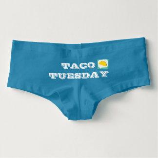 Tanga Shorts de garçon de mardi de taco