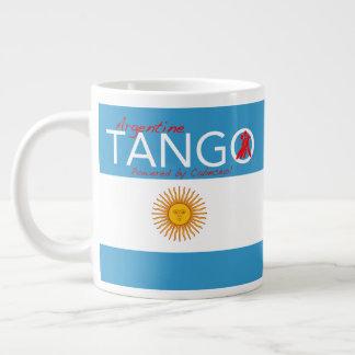 Tango, comme dans la vie - un Haiku de tango Grande Tasse