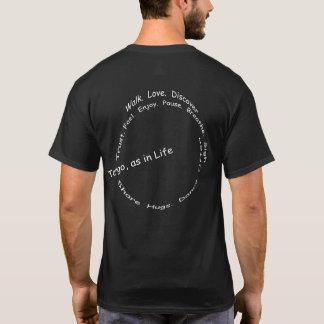 Tango, comme dans la vie - un Haiku de tango T-shirt