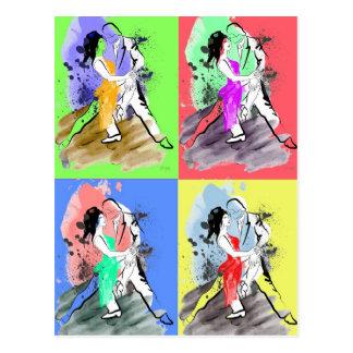 Tango de bruit carte postale