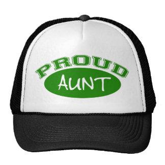 Tante fière (vert) casquette de camionneur