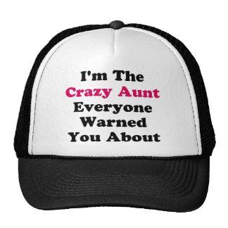 Tante folle casquettes