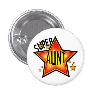 Tante fraîche superbe Funny Button d'étoile Badges