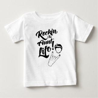 Tante Life de Rockin T-shirt Pour Bébé