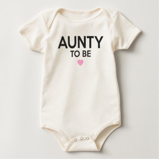 Tante To Be Cute Print pour des baby showers Body