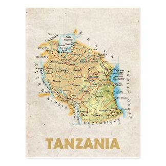 ♥ Tanzanie de CARTES POSTALES de CARTE
