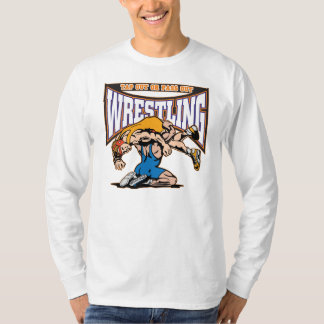 Tapez les lutteurs t-shirt