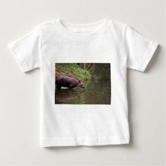 Tapir brésilien (terrestris de Tapirus) T-shirt Pour Bébé