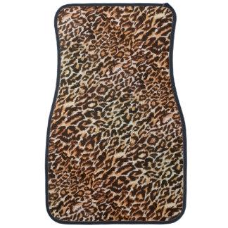 Tapis animaux de voiture de motif de léopard tapis de sol