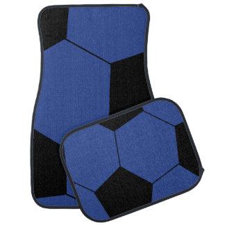 Tapis bleus à la mode de voiture de ballon de tapis de sol