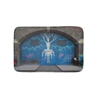 Tapis De Bain Arbre de graffiti de la vie